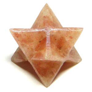 Sunstone Merkaba Stars