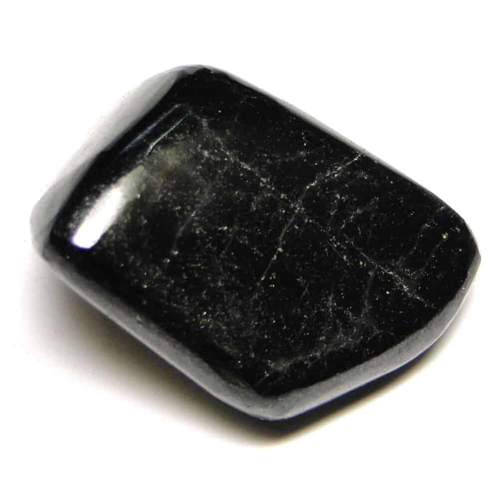 Black Tourmaline Tumbled Pebble Stones Nature's Crest TS002 ₹199.00