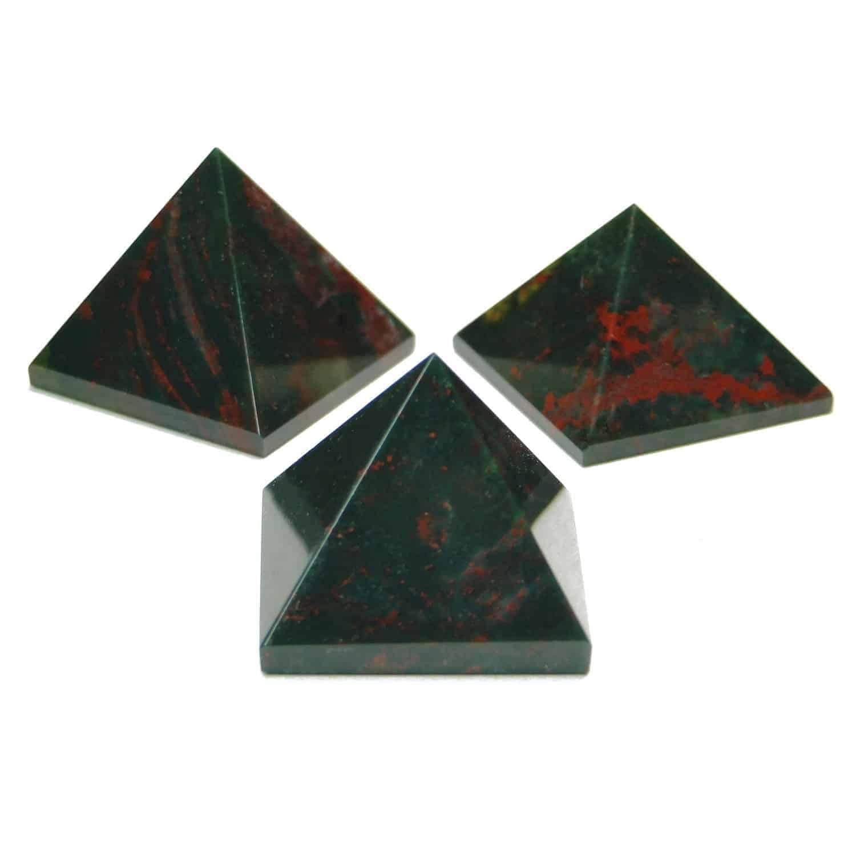 Blood Stone (Heliotrope) Pyramid Nature's Crest PY0003 ₹249.00