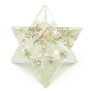 Crystal Quartz Orgone Merkaba
