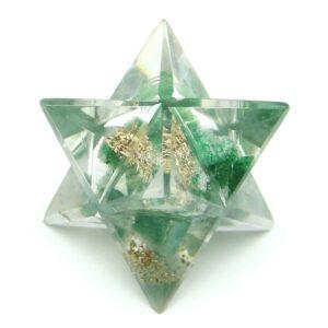 Green Aventurine Orgone Merkaba