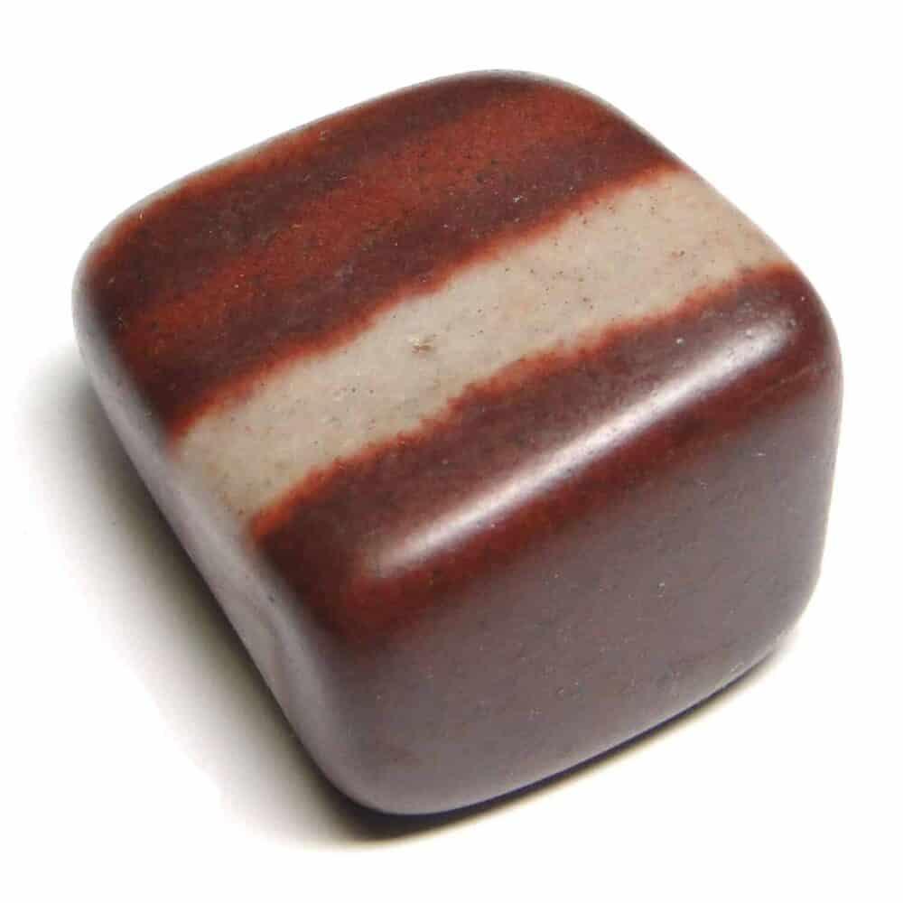 Nature's crest - lingam stone (narmada river stone) tumbled pebble stones - narmada river lingam stone tumbled stone 1 pc