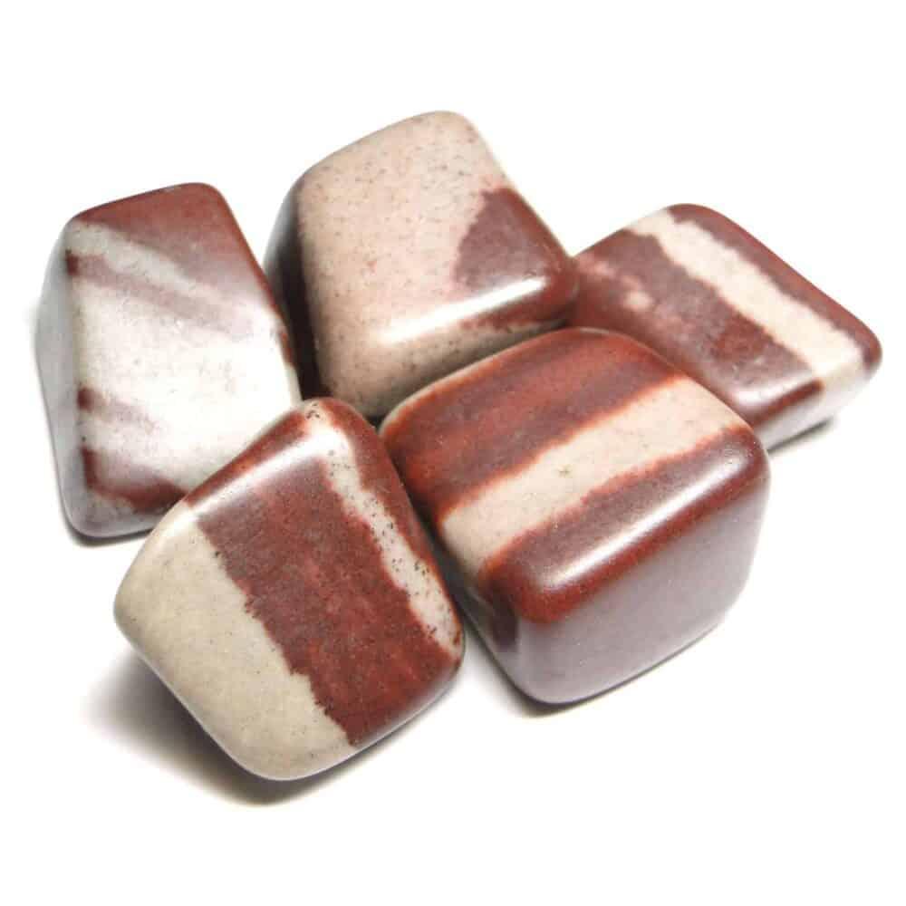 Nature's crest - lingam stone (narmada river stone) tumbled pebble stones - narmada river lingam stone tumbled stone 5 pc