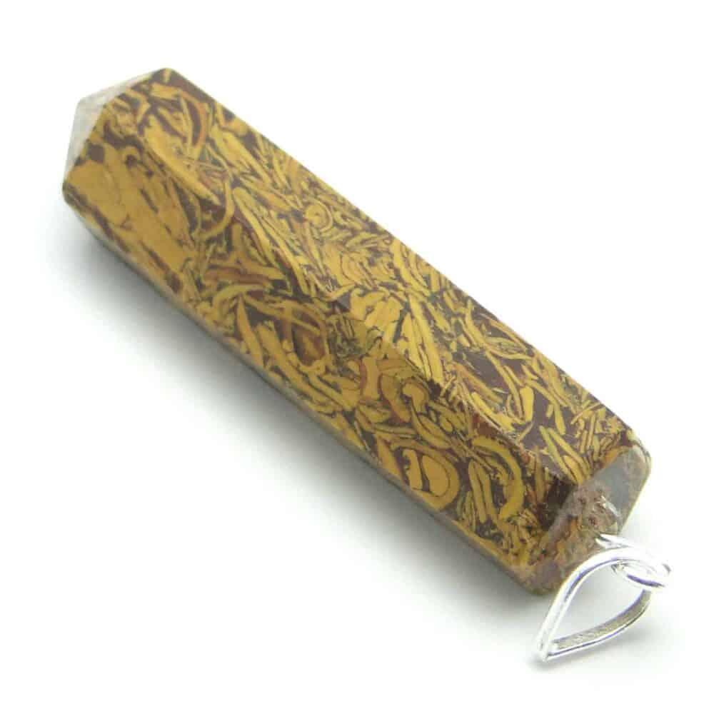 Snake Jasper Pencil Pendant Nature's Crest PP015 ₹249.00