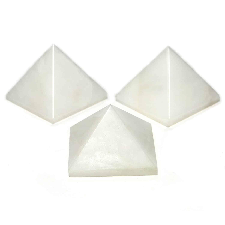 White Aventurine Pyramid Nature's Crest PY0016 ₹249.00