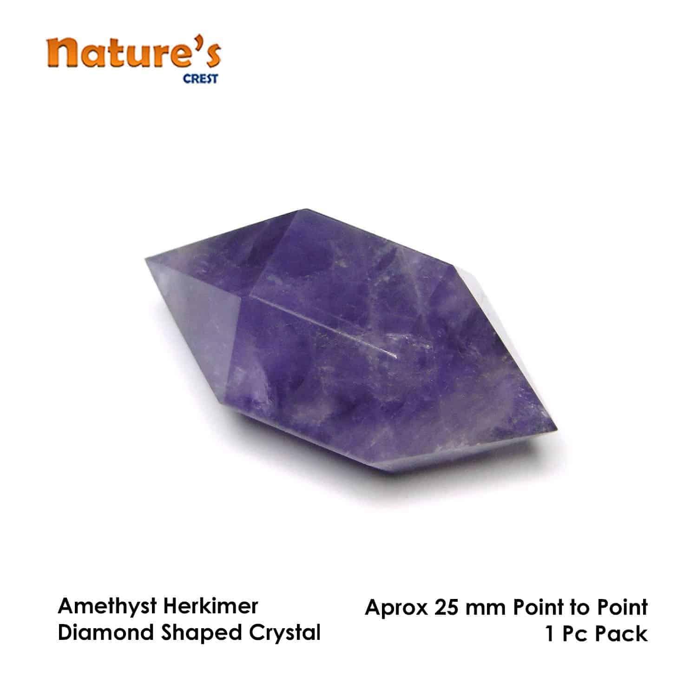 Amethyst Herkimer Diamond Nature's Crest HCP002 ₹299.00
