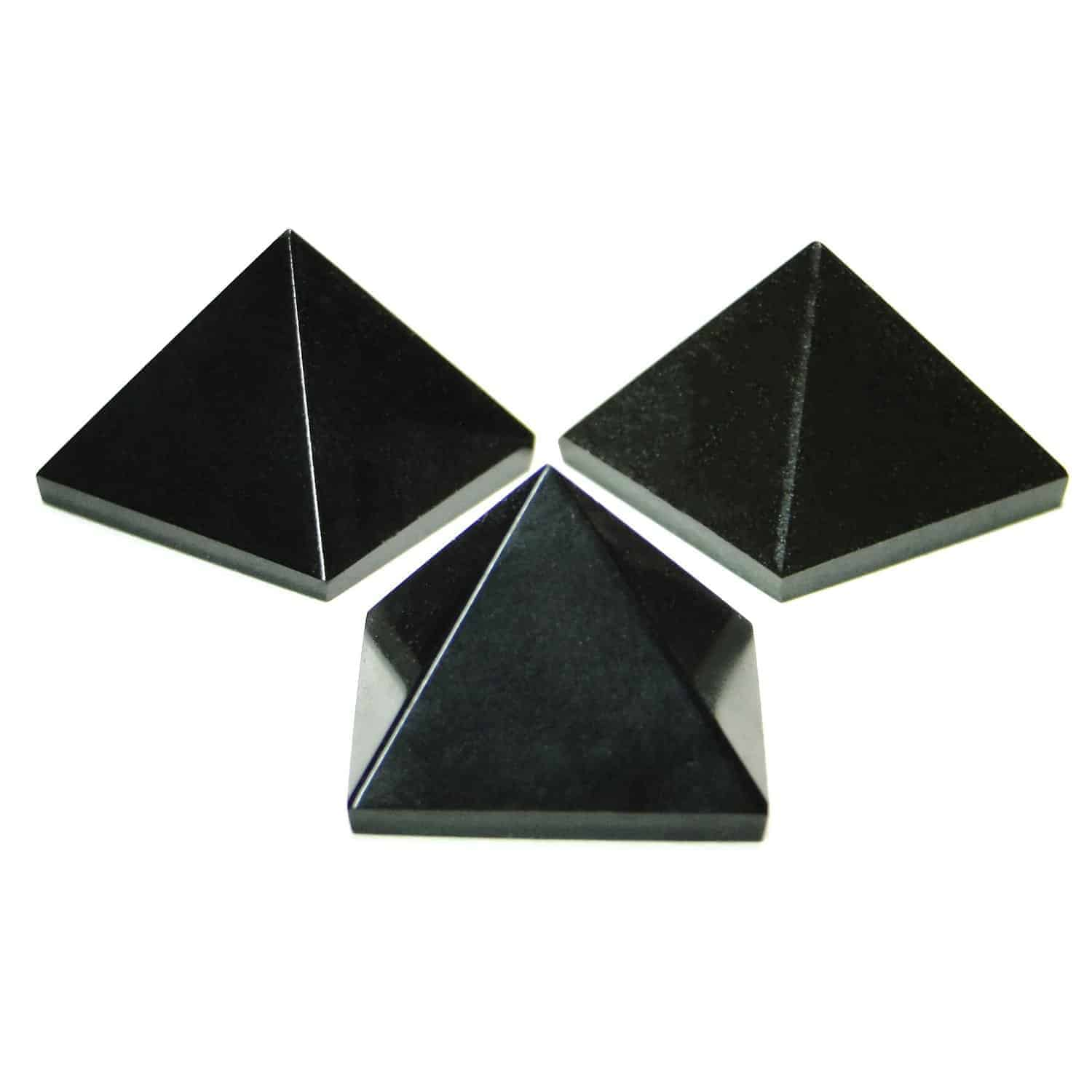 Black Tourmaline Pyramid Nature's Crest PY019 ₹ 349.00