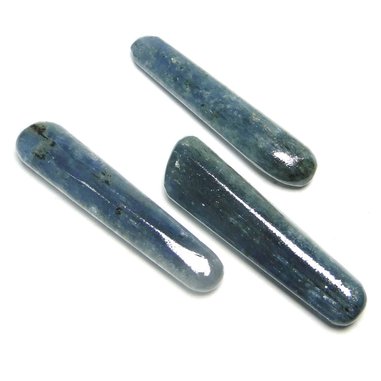Blue Kyanite Healing Wand Massage Stick Nature's Crest MS019 ₹349.00