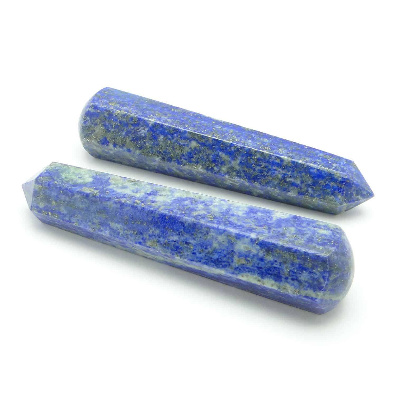 Lapis Lazuli Healing Wand Massage Stick Nature's Crest MS010 ₹499.00