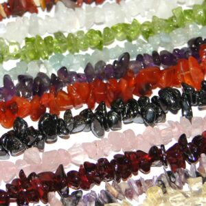Tumbled Chip Beads