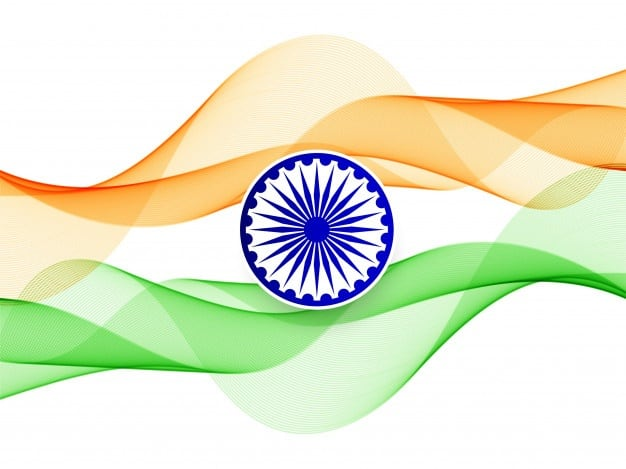 Nature's crest - independence week special - indian flag