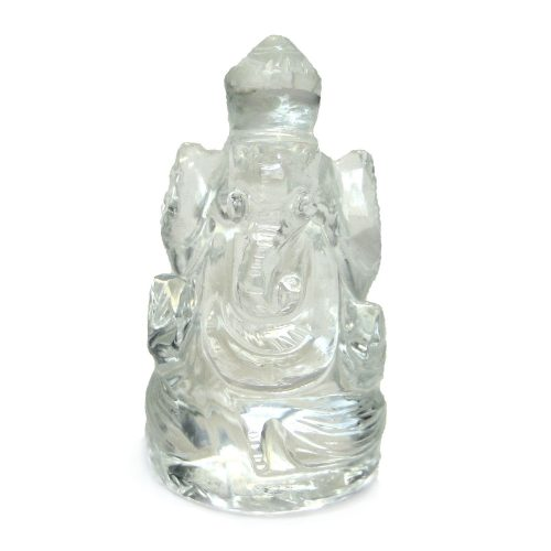 Crystal Quartz Ganesh 1