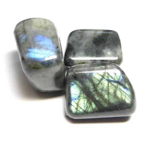 Labradorite Tumbled Stone 3 Pc